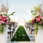 Trang trí tiệc cưới đa phong cách