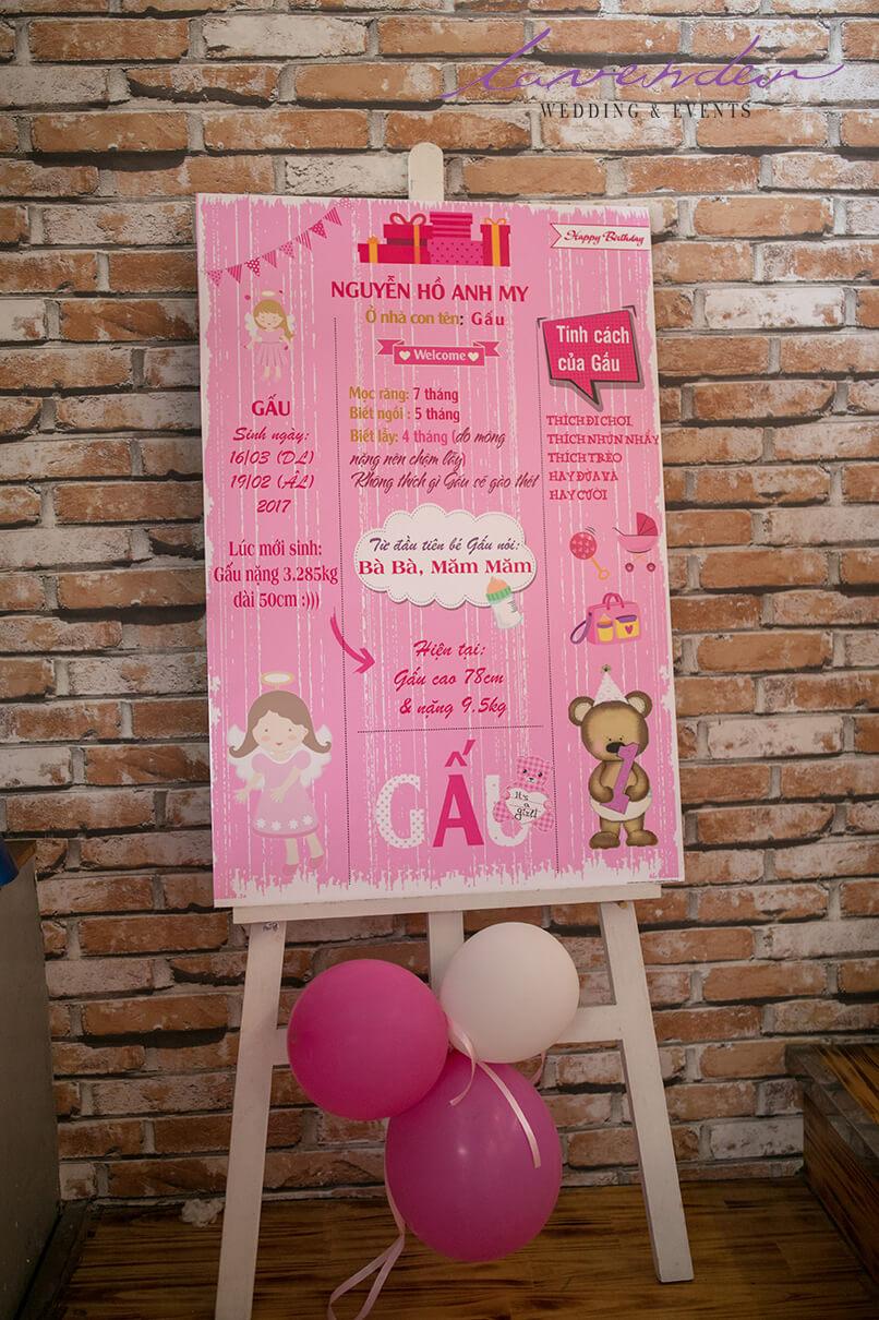 dịch vụ trang trí sinh nhật cho bé ở Hồ chí minh