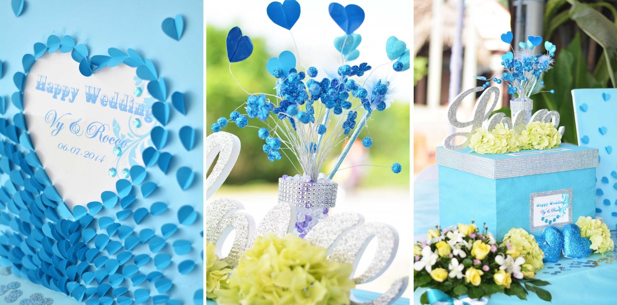 dịch vụ trang trí tiệc cưới trọn gói