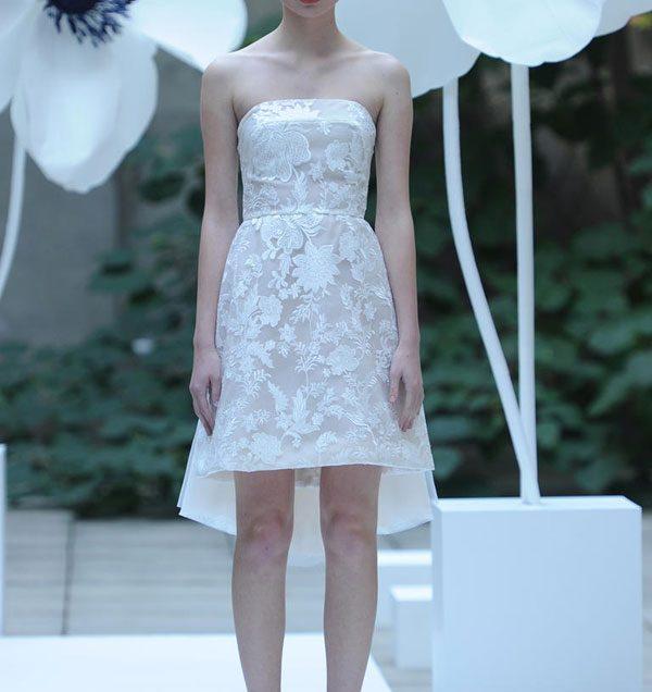 Váy cưới Mullet lên ngôi mùa Thu Đông