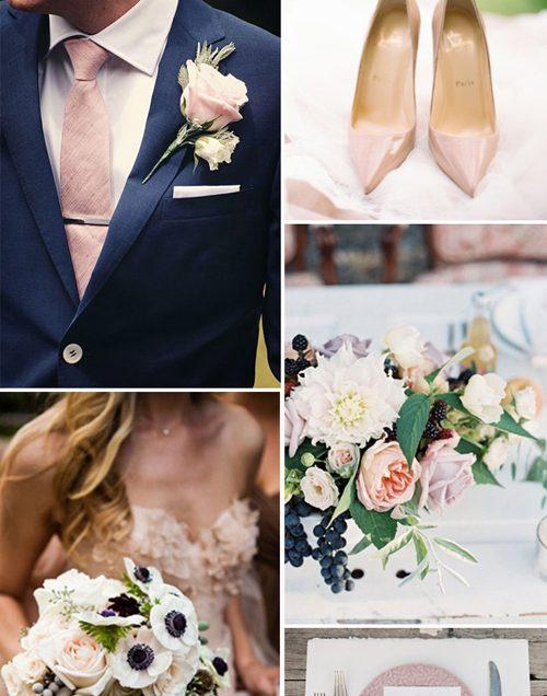 8 bộ đôi sắc màu trời định cho lễ cưới