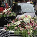 Gợi ý trang trí xe hoa tuyệt đẹp cho ngày cưới