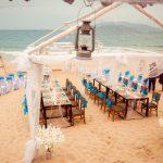 Trang trí tiệc cưới trên bãi biển và một số lưu ý cực kì bổ ích