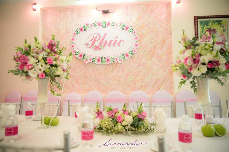 studio trang trí đám cưới tại gia