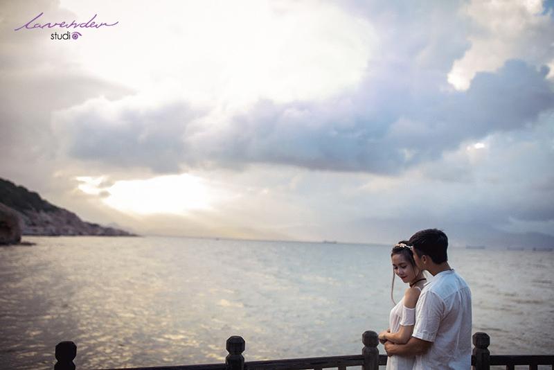 ảnh cưới ngọt ngào tại biển