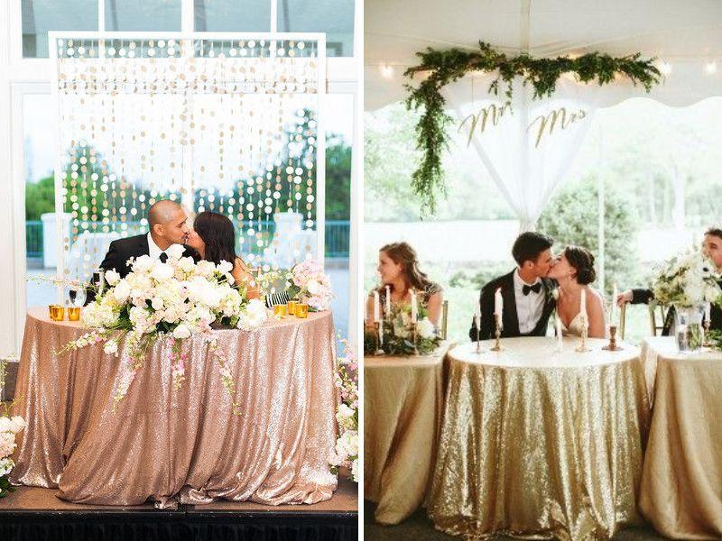 bàn cô dâu chú rể