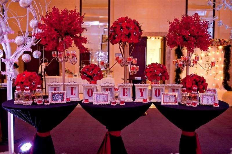 báo giá trang trí tiệc cưới