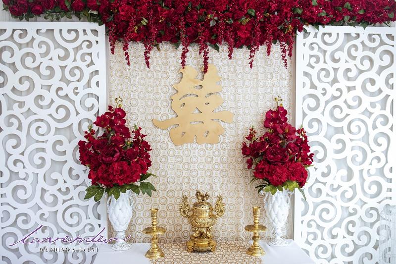 trang trí đám cưới tại gia báo giá
