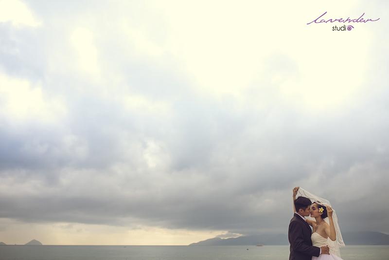 chụp hình cưới tại biển
