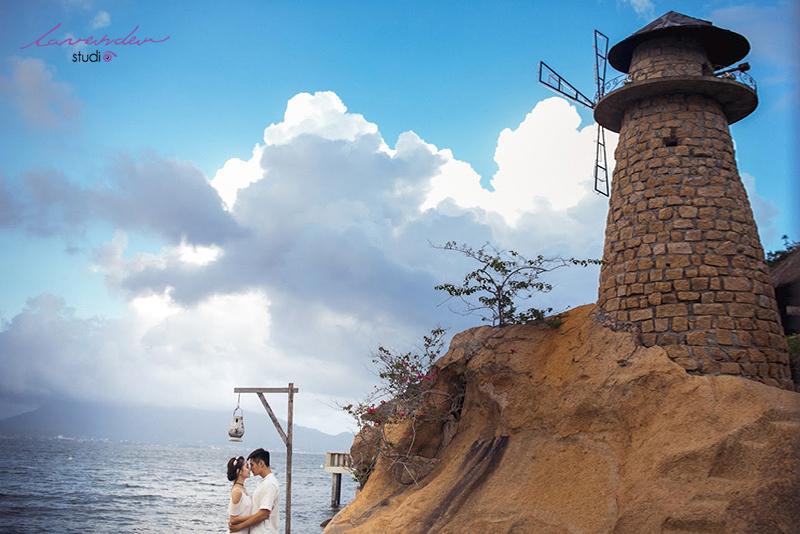 chụp hình cưới biển Nha Trang