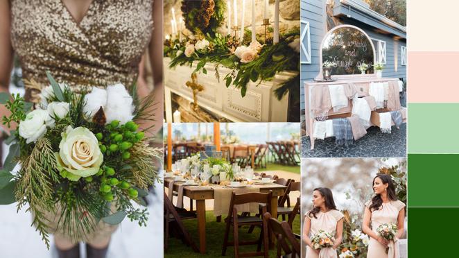 màu sắc trang trí tiệc cưới đẹp