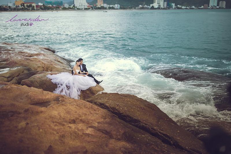 ảnh cưới cùng biển Nha Trang