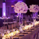 Ý tưởng trang trí tiệc cưới độc đáo vào mùa đông.