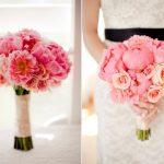 Các mẫu hoa tươi cầm tay cô dâu.