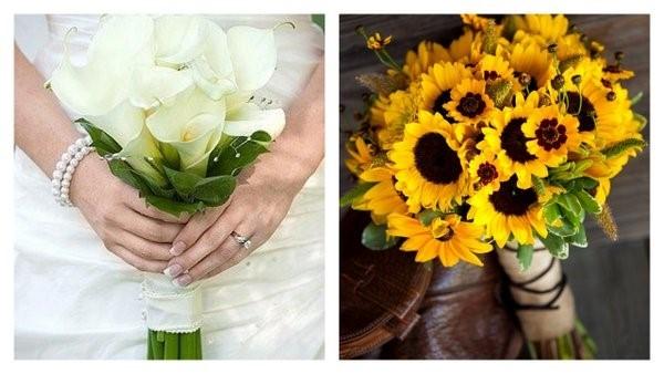 hoa tươi cầm tay cô dâu đẹp