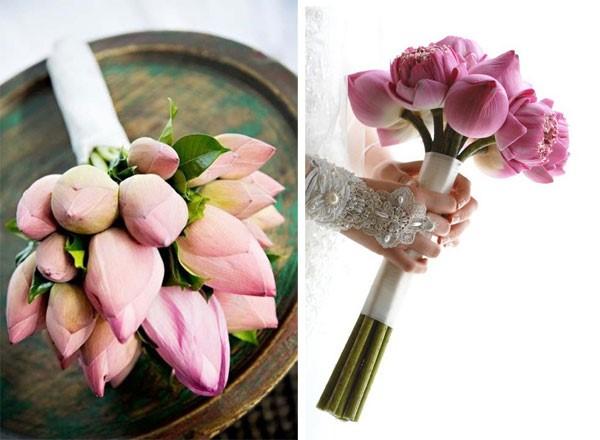 hoa cầm tay cưới xinh
