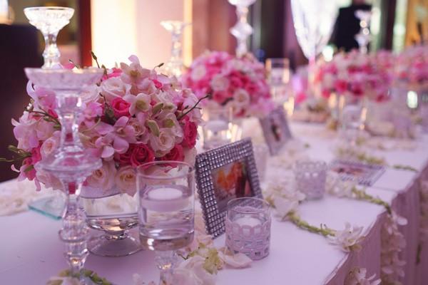 hoa tươi trang trí cưới