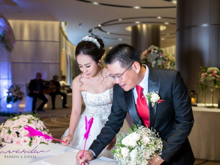 Trang trí tiệc cưới Huy Bình & Nhã Khuê