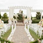 Lưu ý khi lựa chọn địa điểm trang trí tiệc cưới tại nhà.