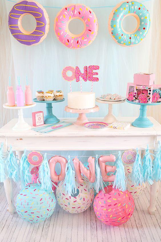 trang trí sinh nhật cho bé gái độc đáo
