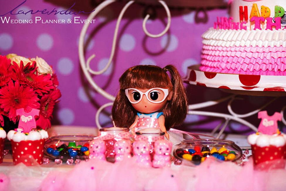 trang trí sinh nhật cho bé gái xinh nhất