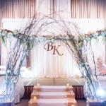 Trang trí tiệc cưới tông pastel ngọt ngào
