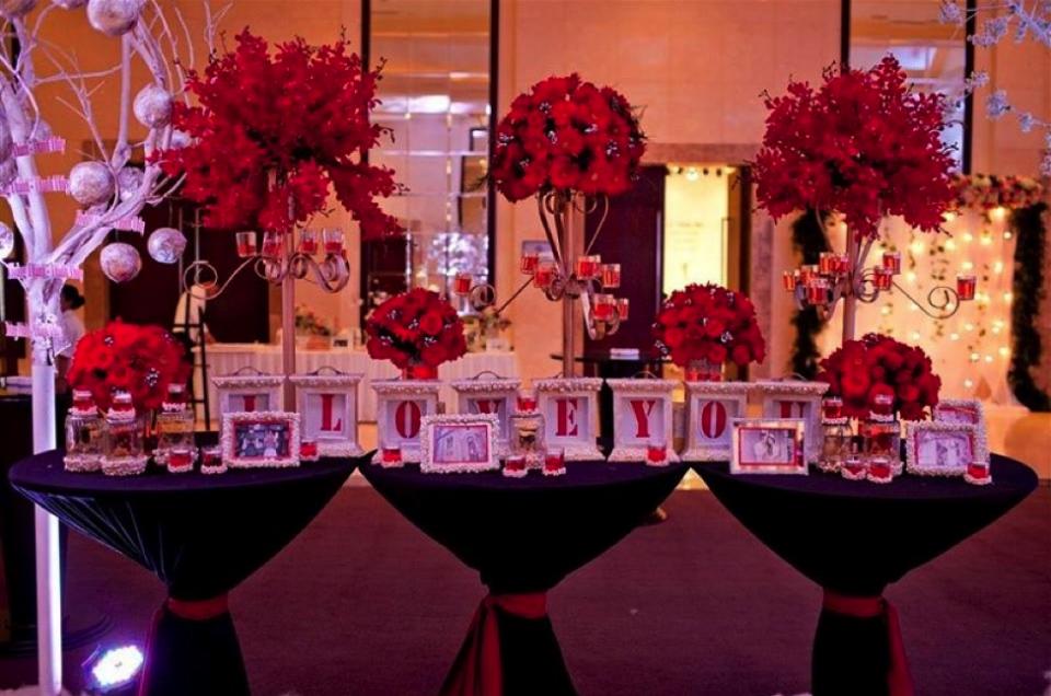 Trang trí tiệc cưới theo màu sắc của cung hoàng đạo