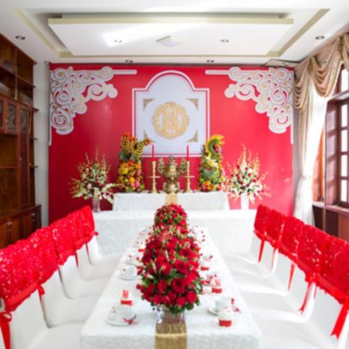 chọn dịch vụ trang trí tiệc cưới đẹp 1
