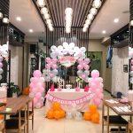 Trang trí tiệc sinh nhật cho người trẻ tuổi