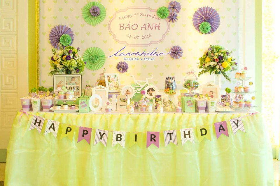 Các ý tưởng trang trí tiệc sinh nhật cho bé tại Tp.Hồ Chí Minh