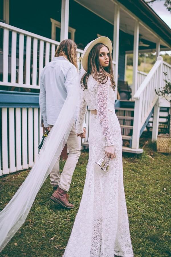 đám cưới phong cách Boho Chic