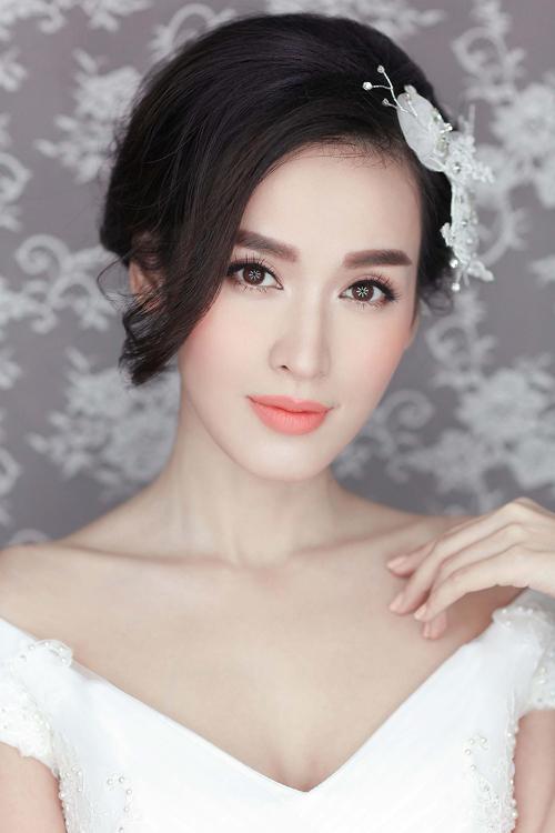 phong cách trang điểm cô dâu