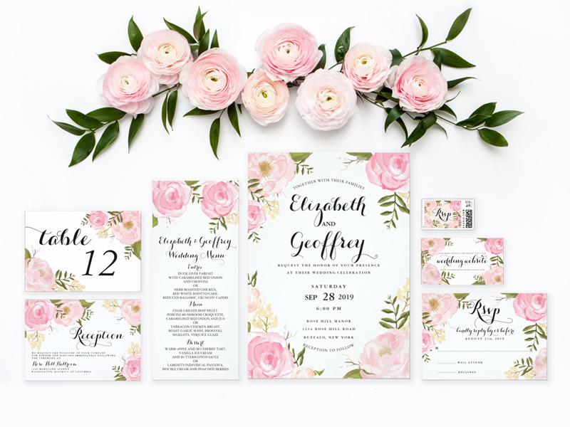 Lavender ý tưởng thiệp cưới độc lạ 2018