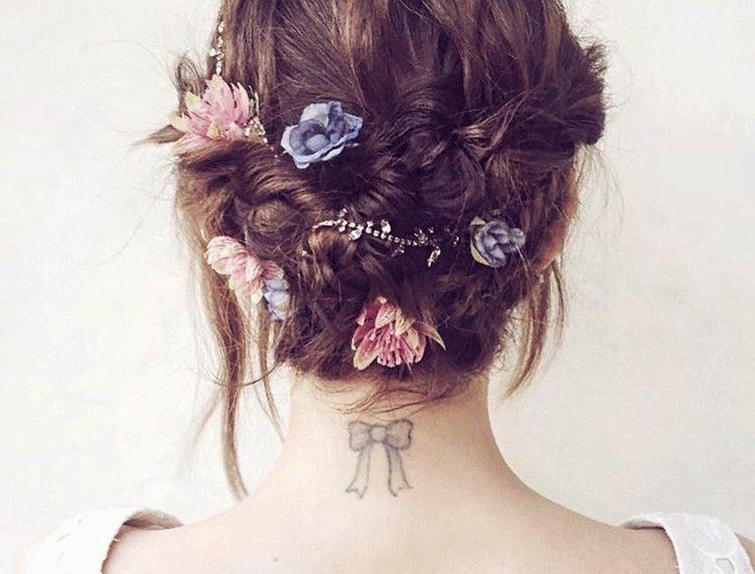 Những kiểu tóc cô dâu xinh đẹp lộng lẫy năm 2018