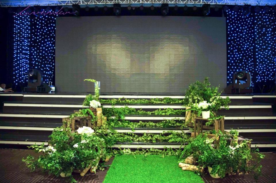 Gợi ý trang trí tiệc cưới màu xanh lá cây cho ngày thành hôn trọn vẹn ý nghĩa