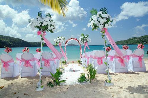 Những điều cần lưu ý khi tổ chức đám cưới trên biển