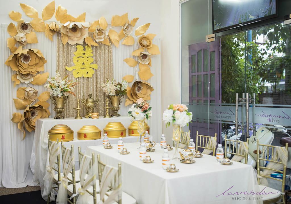 Lễ gia tiên là nghi thức trọng đại trong phong tục cưới hỏi của người Việt